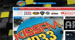 Preview of 1033kissfm.net