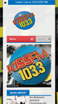 Mobile Preview of 1033kissfm.net