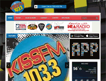 Tablet Preview of 1033kissfm.net
